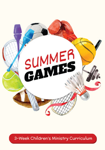 Summer Games Children's Ministry Curriculum