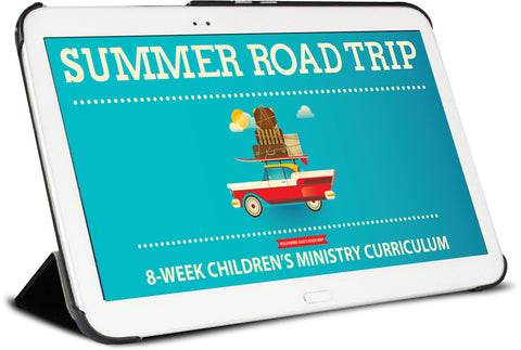 Summer Road Trip Children's Curriculum