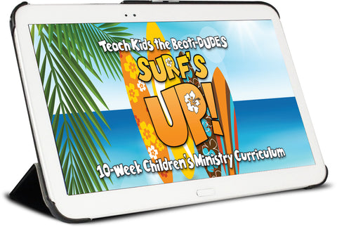 Surfs Up Children's Ministry Curriculum