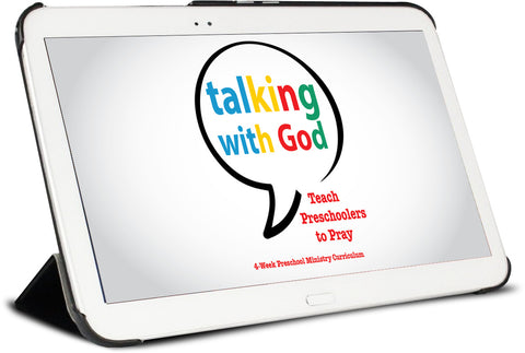 Talking with God Preschool Ministry Curriculum
