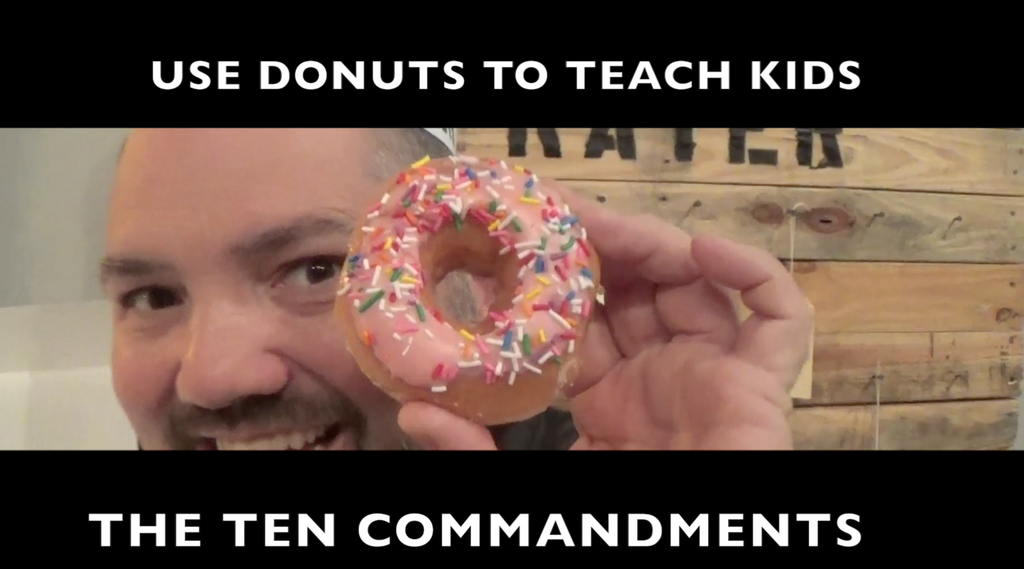 Ten Commandments Lesson for Kids
