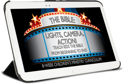 The Bible: Lights, Camera, Action Children's Ministry Curriculum