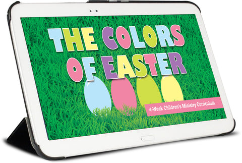 The Colors Of Easter Sample Lesson Overview