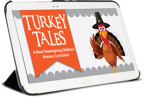 Turkey Tales Children's Ministry Curriculum