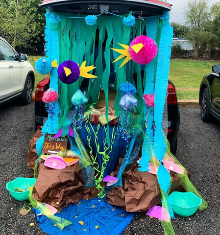 Under The Sea Trunk Or Treat for Church