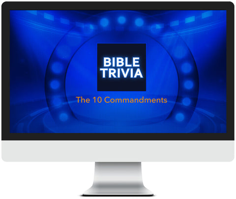 10 Commandments Trivia Game for Kids