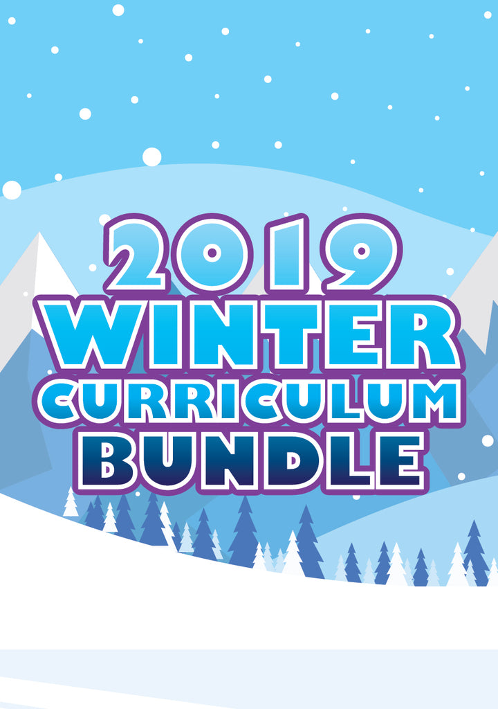 Children's Ministry Curriculum - Winter Bundle