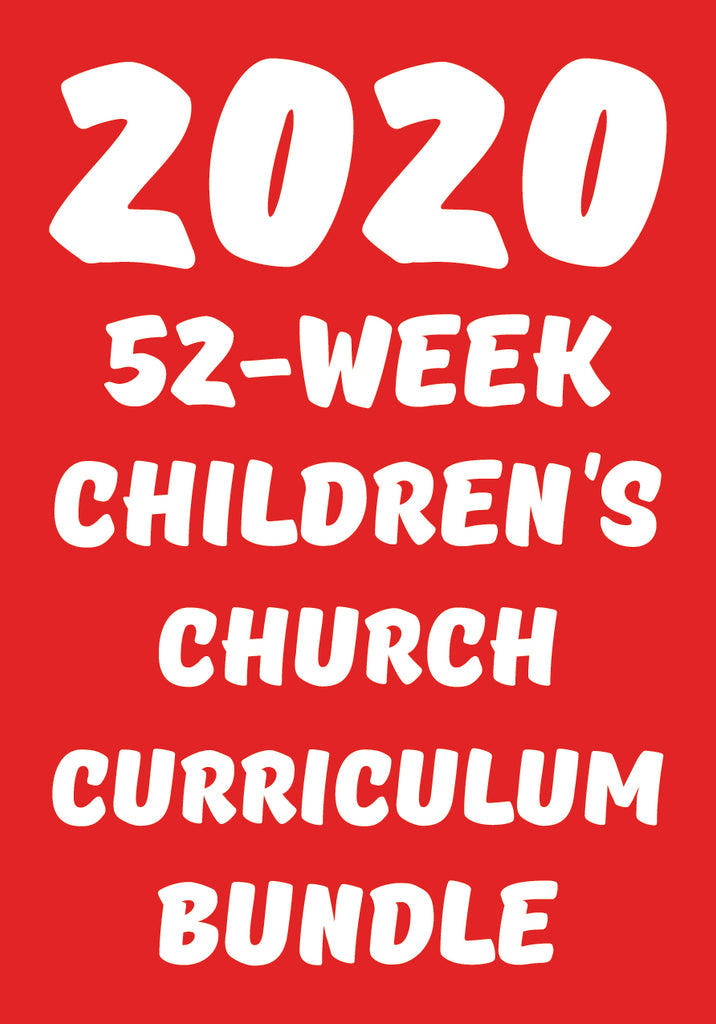 2020 52-Week Kids Church Curriculum Bundle