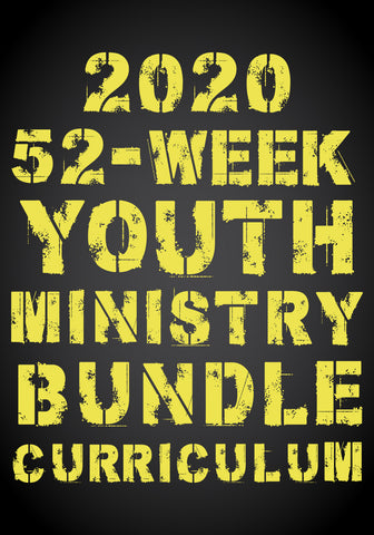 2020 52-Week Youth Ministry Curriculum Bundle