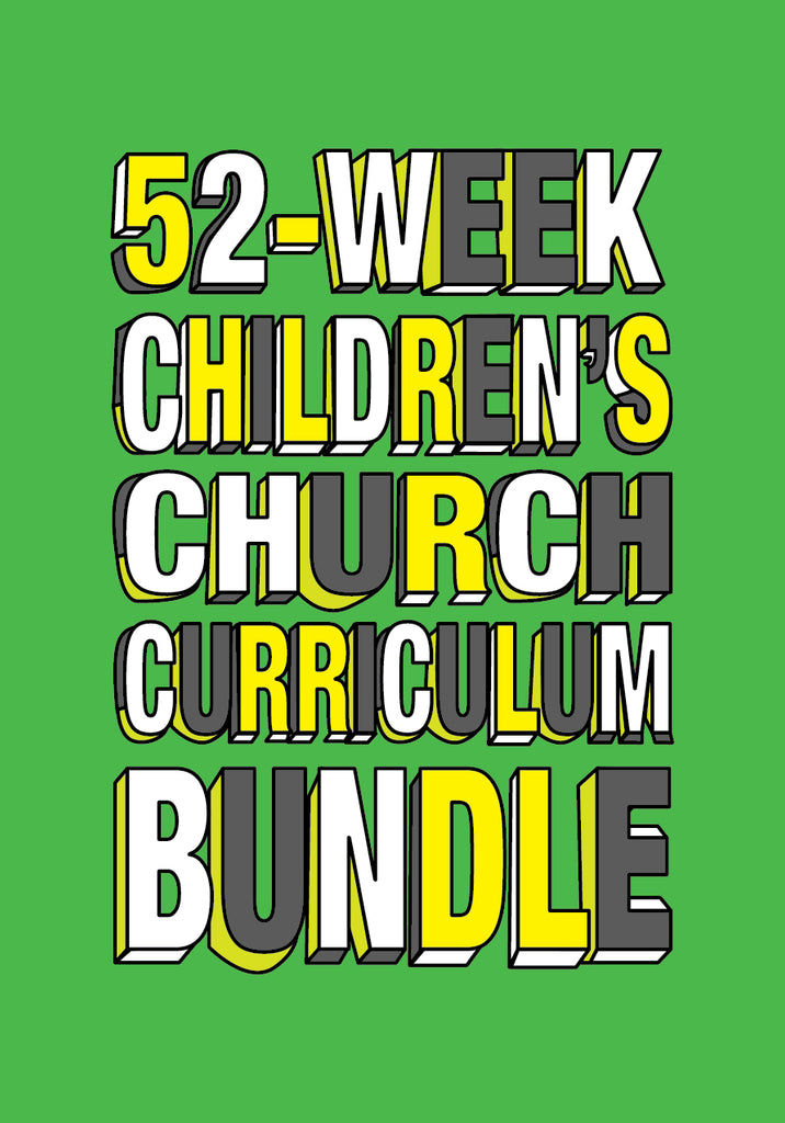 52-Week Children's Church Curriculum Bundle