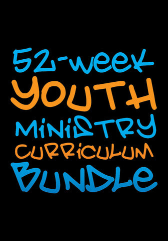52-Week Youth Ministry Curriculum Bundle