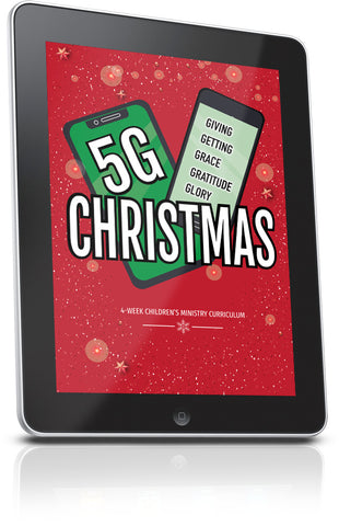FREE 5G Christmas Sunday School Lesson