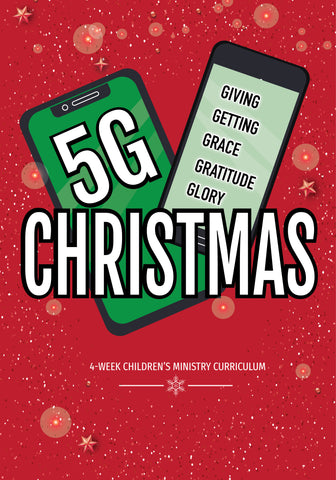 5G Christmas 4-Week Children's Ministry Curriculum