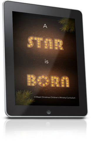 FREE A Star Is Born Children's Ministry Lesson