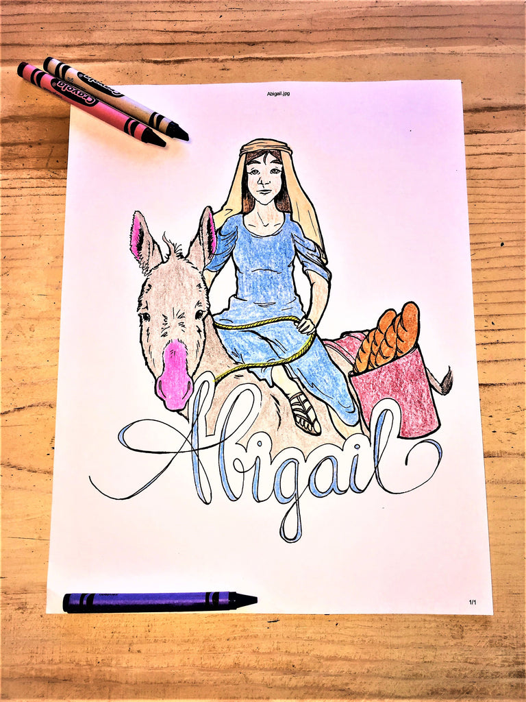 Abigail Coloring Page