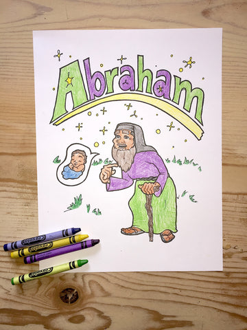 Father Abraham Coloring Page