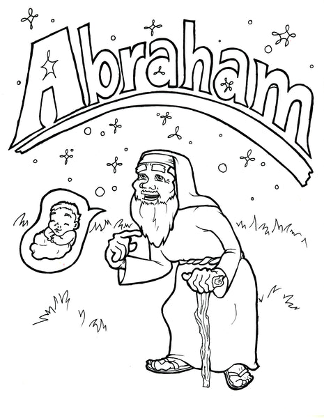 FREE Father Abraham Coloring Page