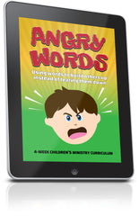 FREE Angry Words Children's Ministry Lesson