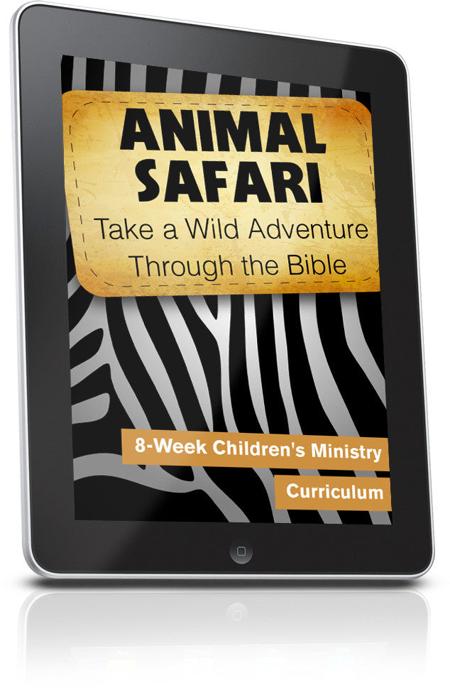 FREE Animal Safari Children's Ministry Lesson