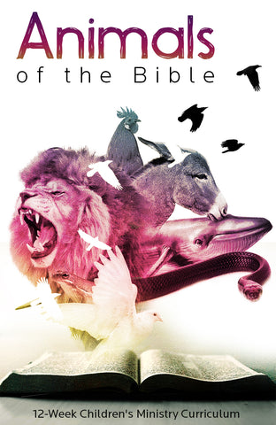 Animals of the Bible 12-Week Children's Ministry Curriculum