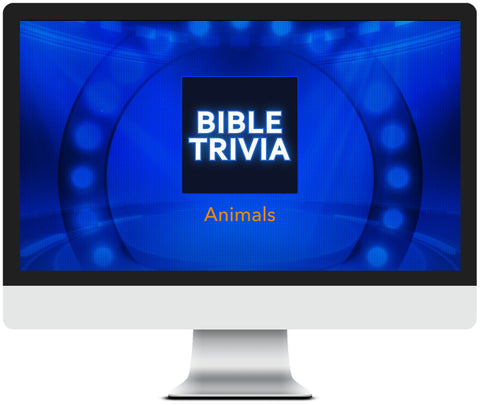 Animals of the Bible Trivia Game for Kids