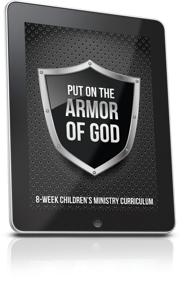 FREE Armor of God Children's Ministry Lesson