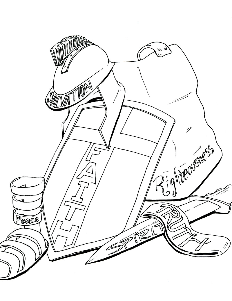 Check Out Our Armor Of God Childrens Ministry Curriculum Help Us Spread The Word Pin This Coloring Page On Pinterest Just Click SAVE Button Below