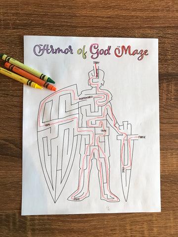 Armor of God Maze