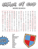 Armor of God Word Search