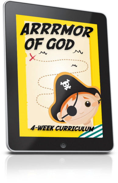 FREE Arrrrmor of God Children's Ministry Lesson