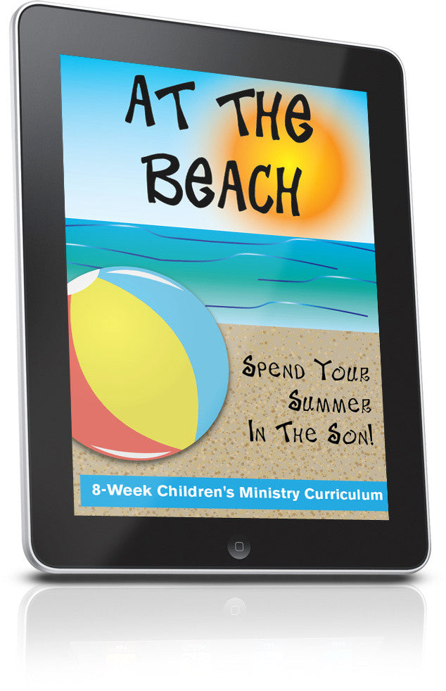 FREE Beach Children's Church Lesson