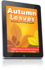 FREE Autumn Leaves Children's Ministry Lesson