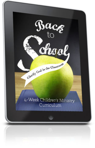 FREE Back to School Children's Ministry Lesson