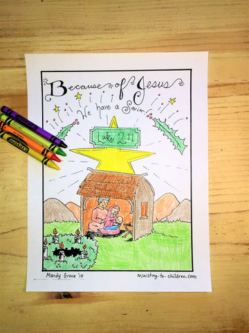 Sale FREE Christmas Coloring Page