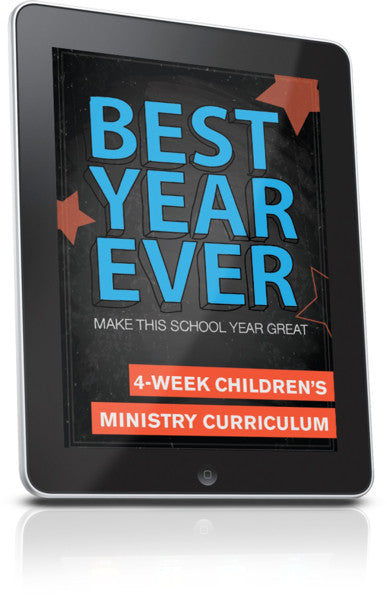 FREE Best Year Ever Week Children's Ministry Lesson