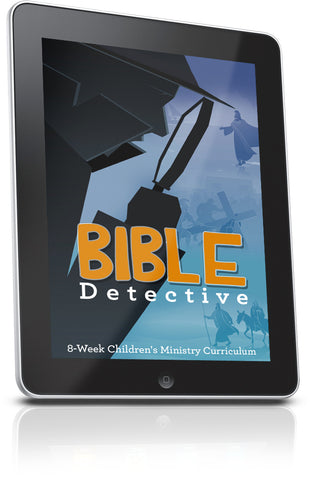 FREE Bible Detective Sunday School Lesson