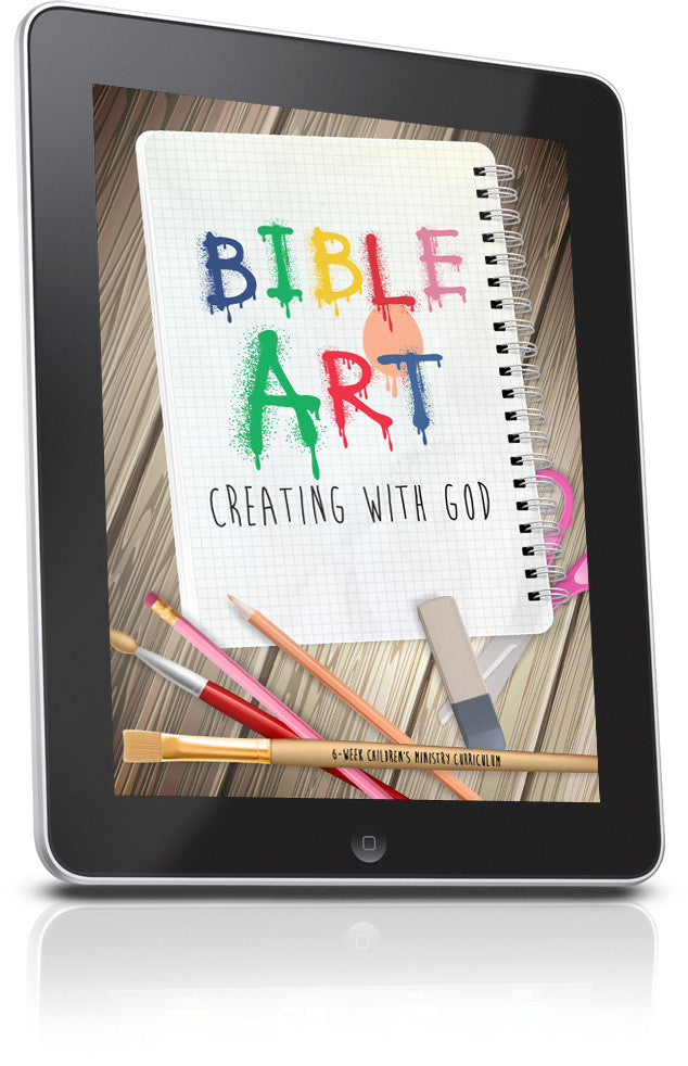 FREE Bible Art Children's Ministry Lesson