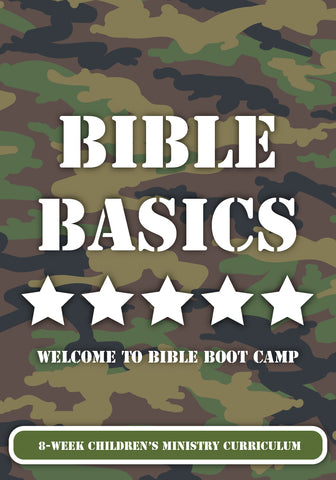Bible Basics 8-Week Children's Ministry Curriculum