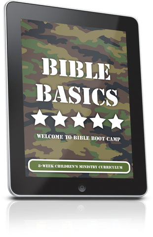 FREE Bible Basics Sunday School Lesson