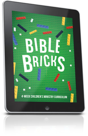 Bible Bricks Children's' Ministry Lesson