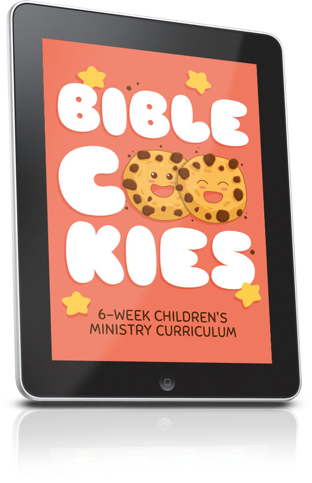 FREE Bible Cookies Children's Ministry Lesson
