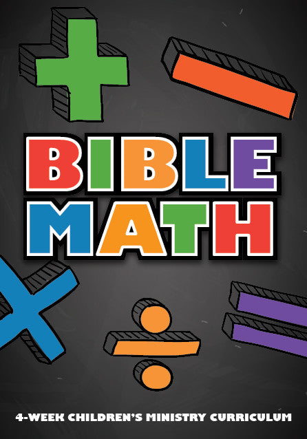 Bible Math 4-Week Children's Ministry Curriculum