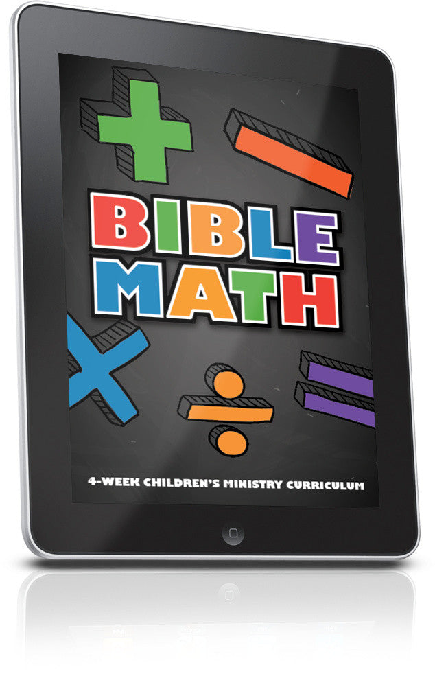 FREE Bible Math Children's Ministry Lesson