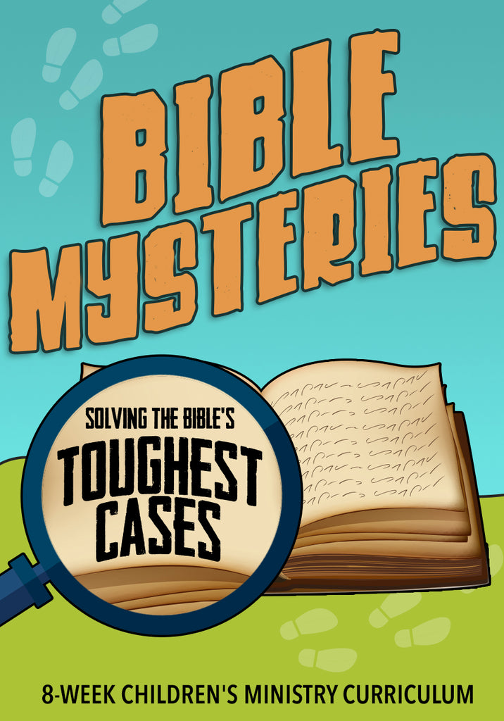 Bible Mysteries 8-Week Children's Ministry Curriculum