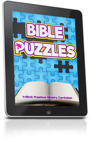 FREE Bible Puzzles Preschool Ministry Lesson