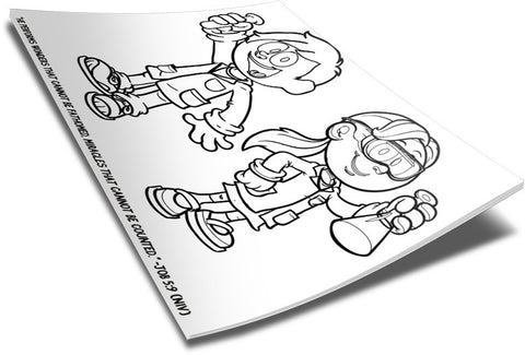 Bible Science Coloring Page