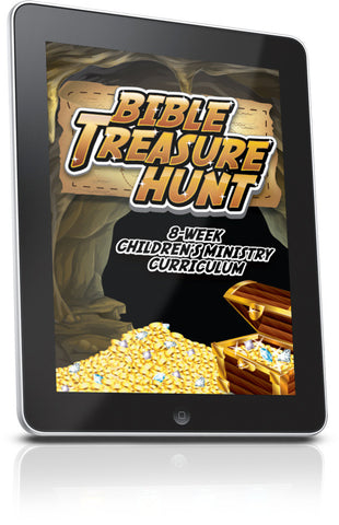 FREE Bible Treasure Hunt Children's Ministry Lesson