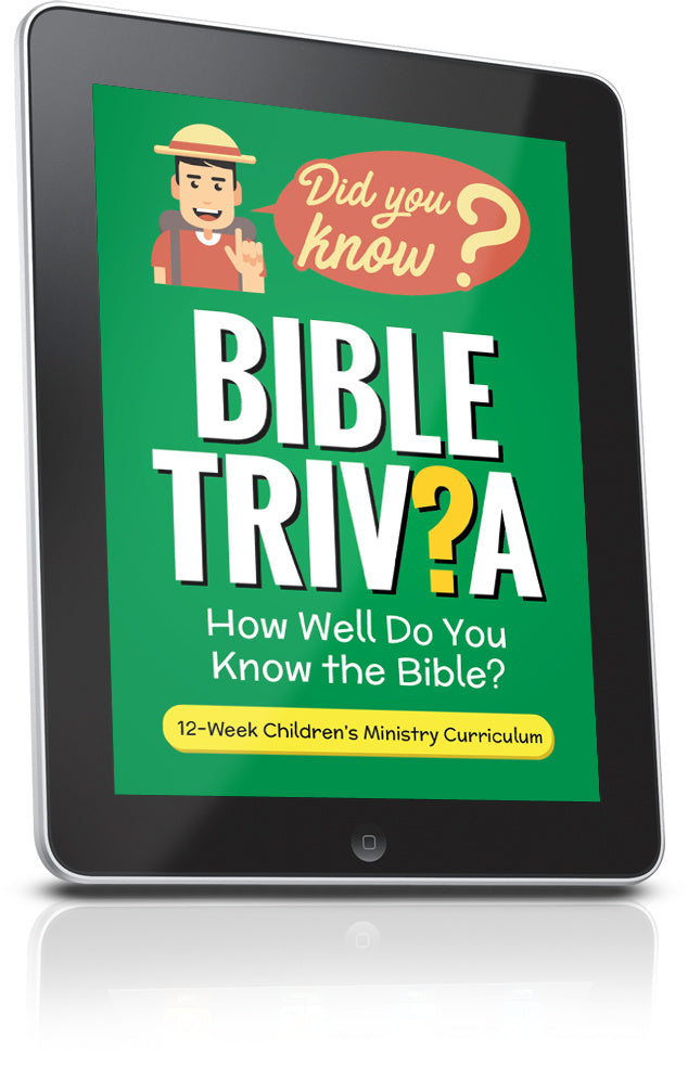 FREE Bible Trivia for Kids Lesson