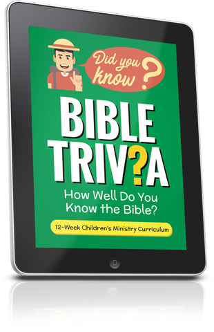 FREE Bible Trivia Children's Ministry Lesson