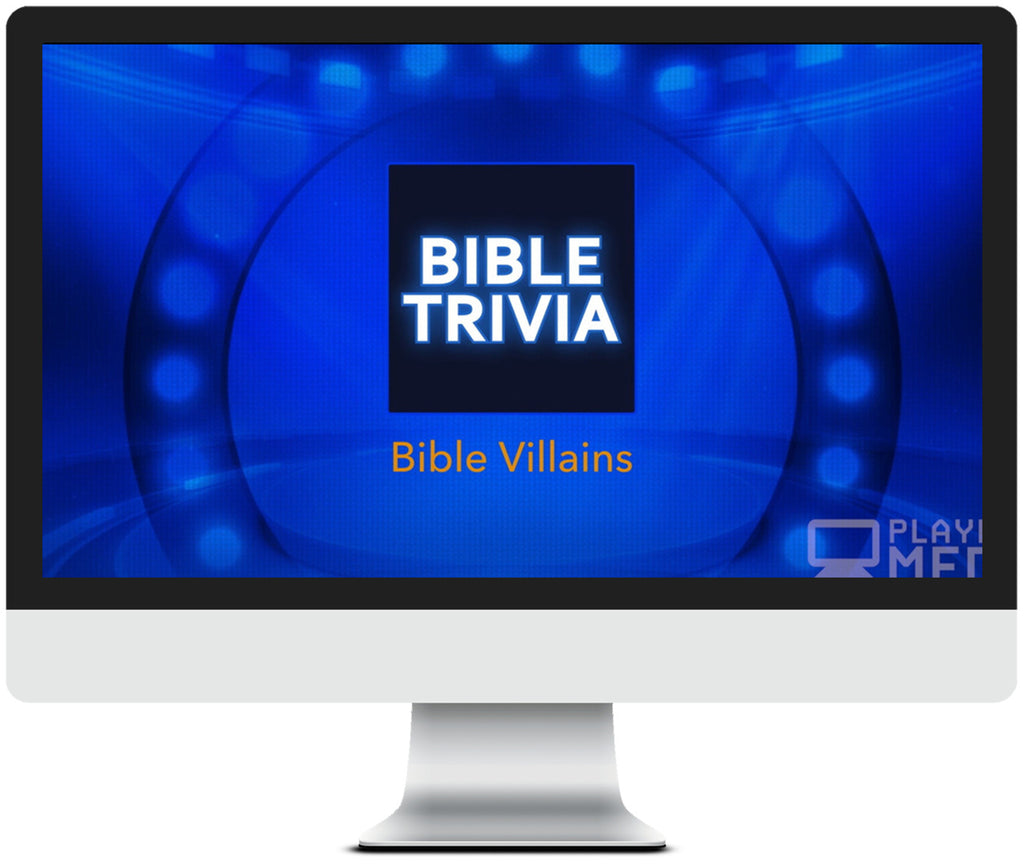 Villains of the Bible Trivia Game for Kids
